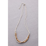 Making Memories - Vintage Groove Collection - Jewelry Simple Strands - Wood Bead