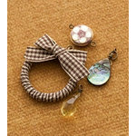 Making Memories - Vintage Groove Collection - Jewelry Designer Combinations - Ribbon Wreath