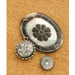 Making Memories - Vintage Groove Collection - Jewelry Designer Combinations - Shell Oval
