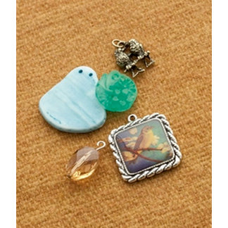 Making Memories - Vintage Groove Collection - Jewelry Designer Combinations - Love Birds