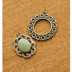 Making Memories - Vintage Groove Collection - Jewelry Designer Combinations - Circles and Stone