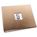 Making Memories - 12 x 12 Embossed Leather Album - 3-Ring - Bronze
