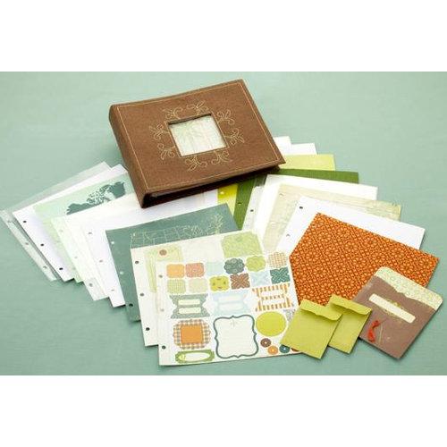 Making Memories - Panorama Collection - 8 x 8 Album Kit - Travel