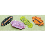 Making Memories - Toil and Trouble Collection - Halloween - Artisan Plaques, CLEARANCE