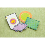 Making Memories - Toil and Trouble Collection - Halloween - Die Cut Pieces with Glitter Accents