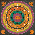Making Memories - Toil and Trouble Collection - Halloween - Circle Stickers - Journaling, CLEARANCE