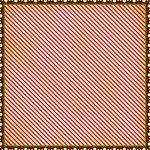 Making Memories - Noel Collection - Christmas - 12 x 12 Die Cut Paper - Postage Stripe