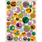 Making Memories - Toil and Trouble Collection - Halloween - Glitter Buttons