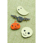 Making Memories - Toil and Trouble Collection - Halloween - Metal Icons, CLEARANCE