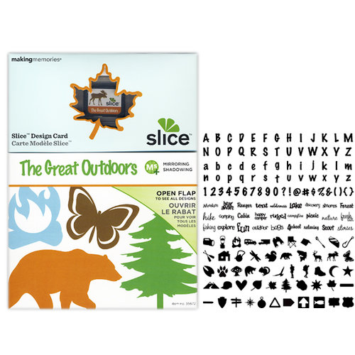Making Memories - Slice Design Card - Great Outdoors