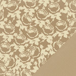 Making Memories - Paper Reverie Collection - 12 x 12 Metallic Double Sided Paper - Golden Rose
