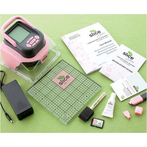 Making Memories - Slice Elite Cordless Design Cutter Machine - Pink