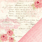 Making Memories - Je t'Adore Collection - Valentine - 12 x 12 Double Sided Paper - Tres Jolie Collage