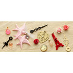 Making Memories - Je t'Adore Collection - Valentine - Accoutrements - Embellishment Pack
