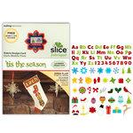 Making Memories - Fabrique Collection - Slice Design Card - 'Tis the Season