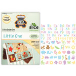 Making Memories - Fabrique Collection - Slice Design Card - Little One