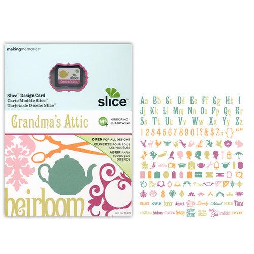 Making Memories - Slice Design Card - Grandma's Attic