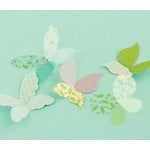 Making Memories - Dilly Dally Collection - Shimmer Die Cut Pieces - Butterfly
