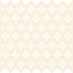 Making Memories - Tie the Knot Collection - 12 x 12 Die Cut Paper - Vintage Lace