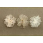 Making Memories - Tie the Knot Collection - Tulle Flowers