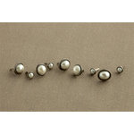 Making Memories - Tie the Knot Collection - Pearl Brads