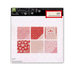 Making Memories - Love Notes Collection - 8 x 8 Paper Pad, BRAND NEW