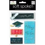 Me and My Big Ideas - Soft Spoken Embellishments - Ellen Krans - Graduation