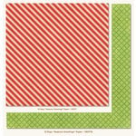 My Mind's Eye - 12 Days of Christmas Collection - 12 x 12 Double Sided Paper - Seasons Greetings