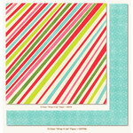 My Mind's Eye - 12 Days of Christmas Collection - 12 x 12 Double Sided Paper - Wrap It Up