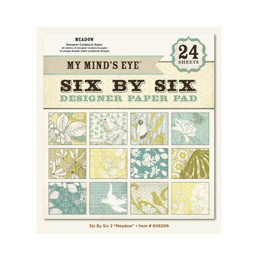My Mind's Eye - 6 x 6 Paper Pad - Meadow
