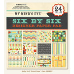 My Mind's Eye - 6 x 6 Paper Pad - School Daze