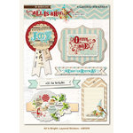 My Mind's Eye - All Is Bright Collection - Christmas - 3 Dimensional Stickers