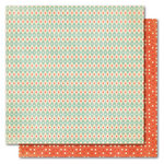 My Mind's Eye - Alphabet Soup Collection - 12 x 12 Double Sided Paper - Twinkle Twinkle Boy, CLEARANCE