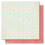 My Mind's Eye - Alphabet Soup Collection - 12 x 12 Double Sided Paper - Lovely Girl, CLEARANCE