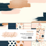 My Minds Eye - Blush Collection - 12 x 12 Paper and Accessories Kit