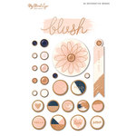 My Minds Eye - Blush Collection - Decorative Brads