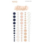 My Minds Eye - Blush Collection - Enamel Dots