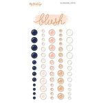 My Minds Eye - Blush Collection - Enamel Dots