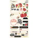 My Minds Eye - In Bloom Collection - Cardstock Stickers