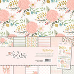 My Mind's Eye - Bliss Collection - 12 x 12 Paper and Accessories Kit with Foil Accents