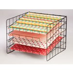 My Mind's Eye - Wire Scrapbook Paper Rack - 12 x 12