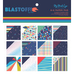 My Mind's Eye - Blast Off Collection - 6 x 6 Paper Pad with Foil Accents