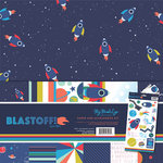 My Mind's Eye - Blast Off Collection - 12 x 12 Paper and Accessories Kit with Foil Accents