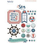 My Mind's Eye - By the Sea Collection - Decorative Brads