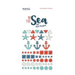 My Mind's Eye - By the Sea Collection - Enamel Shapes