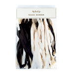 My Minds Eye - Black and White Collection - Banner - Tassel