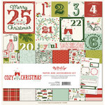 My Minds Eye - Cozy Christmas Collection - 12 x 12 Paper and Accessories Kit