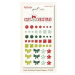 My Minds Eye - Cozy Christmas Collection - Enamel Shapes