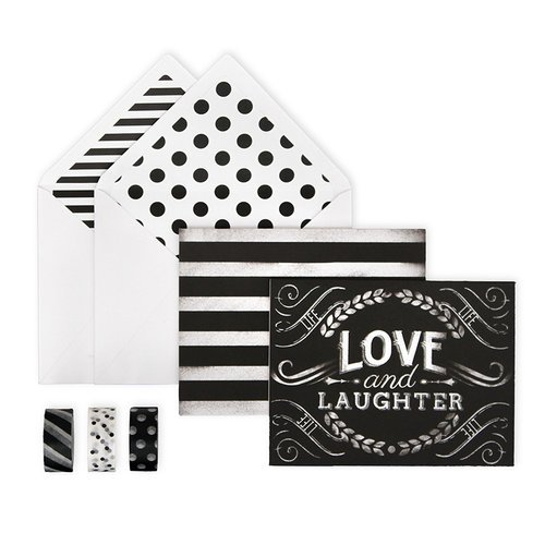 My Minds Eye - Chalk Collection - Card Box Kit - Just a Little Note