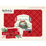 My Minds Eye - Comfort and Joy Collection - Christmas - Card Set with Glitter Accents